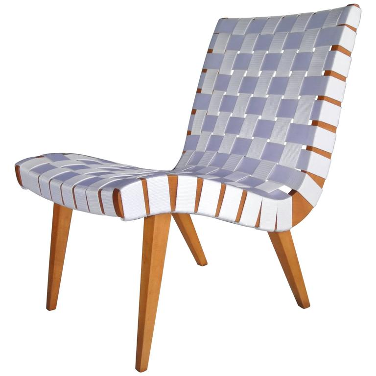 Lounge Chair by Jens Risom For Sale at 1stdibs