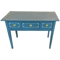 19th Century English Regency Painted Serving Table