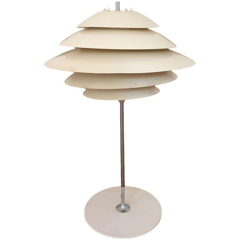 Poul Henningsen Style Table Lamp by Sonneman