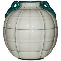 Ceramic Vase by Gio Ponti Manufactured by Richard Ginori