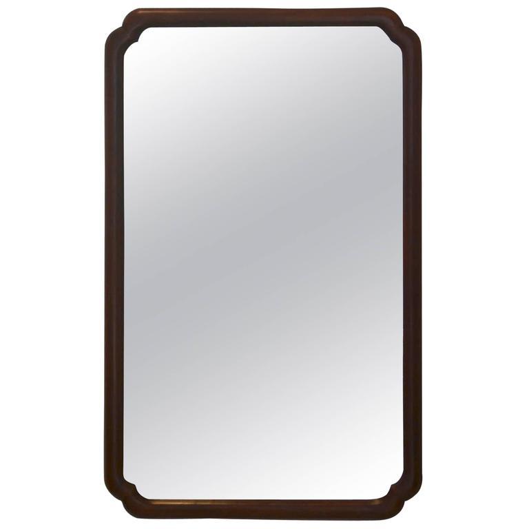 Mid-Century Wall Mirror by Widdicomb