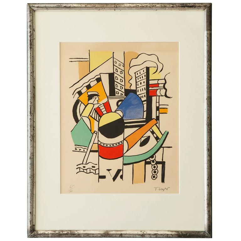 Vintage Fernand Léger Poster 1
