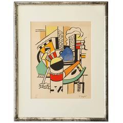Vintage Fernand Léger Poster