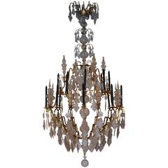 Mid-18th Century Louis XV Style Chandelier from France