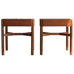 Pair of Nightstands by Ico and Luisa Parisi