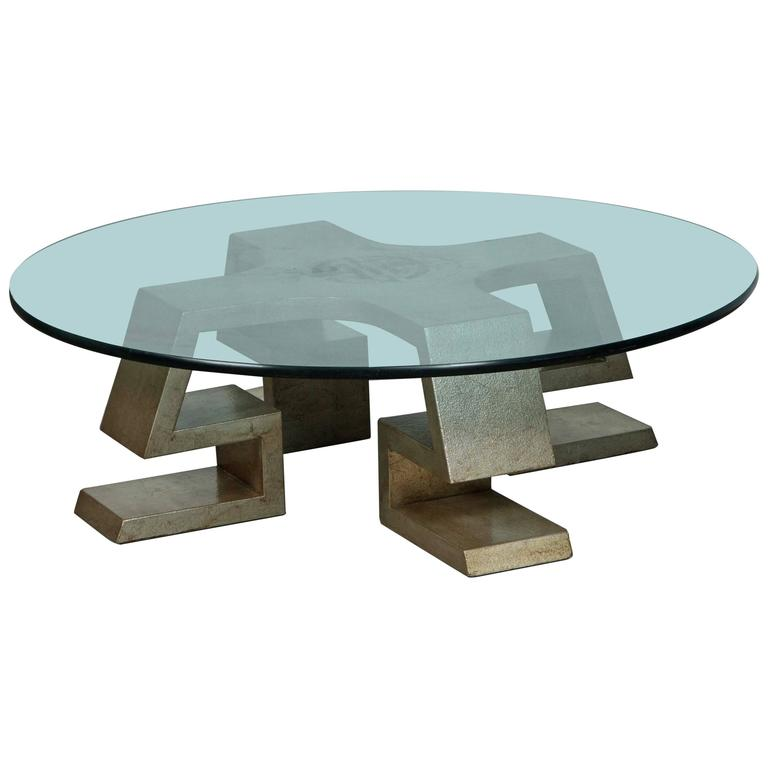 Exquisite Rare James Mont Coffee Table At 1stdibs