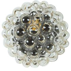 Limburg Champagne Bubble Glass Sconce / Flush Mount by Helena Tynell