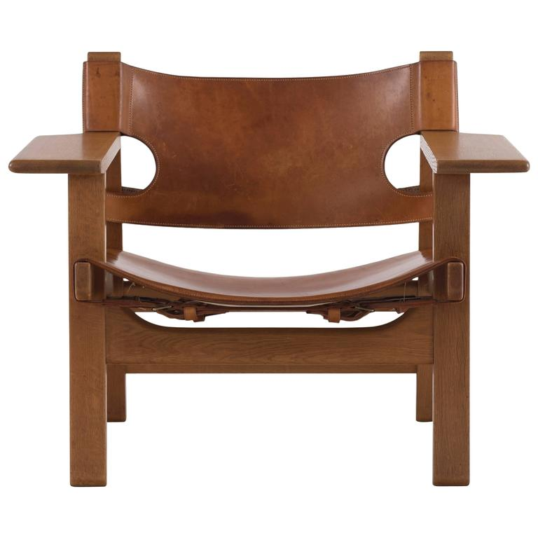 Superieur Børge Mogensen The Spanish Chair For Sale