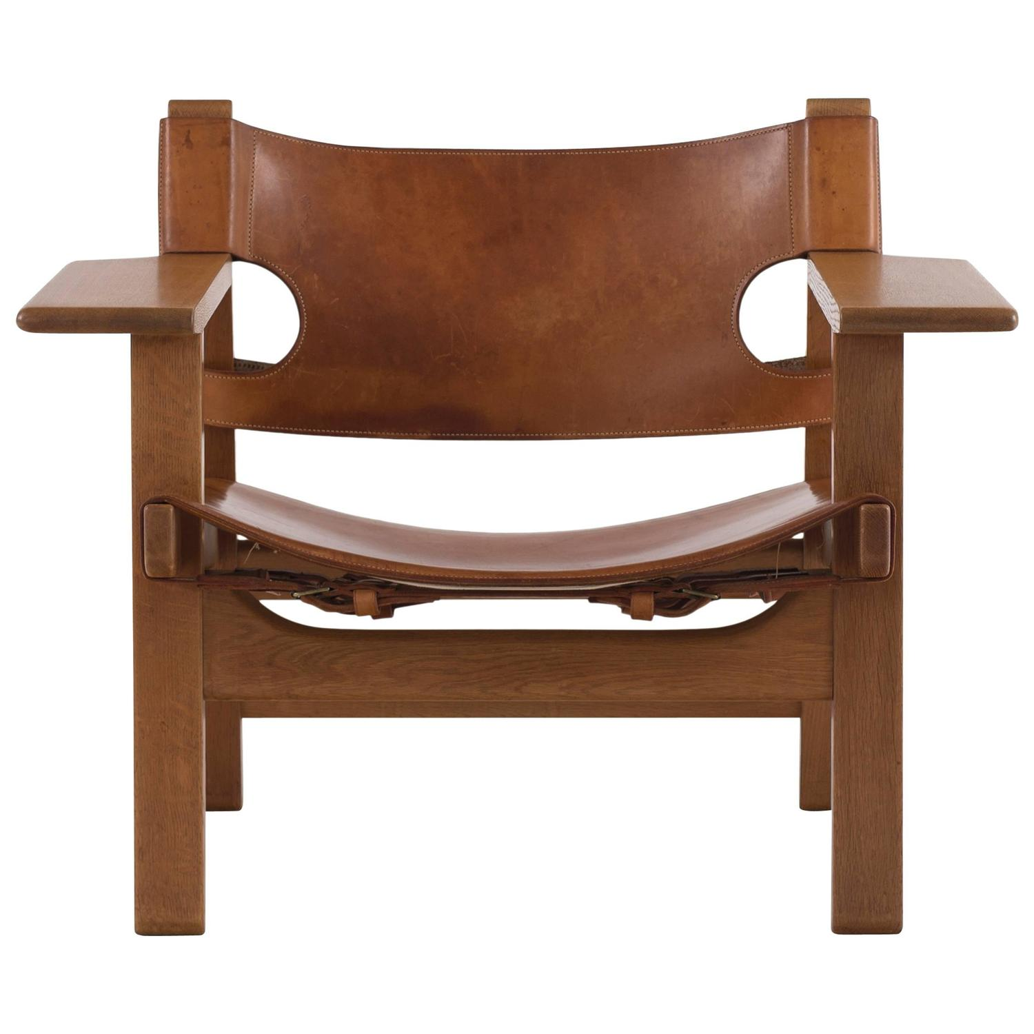 B¸rge Mogensen The Spanish Chair For Sale at 1stdibs