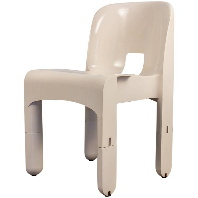 Joe Colombo Pre-Production Universale Chair For Sale