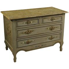 20th Century French Lacquered and Painted Dresser