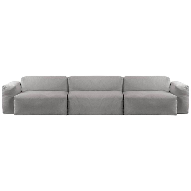 cappellini superoblong sofa by jasper morrison italy couch for sale at 1stdibs. Black Bedroom Furniture Sets. Home Design Ideas