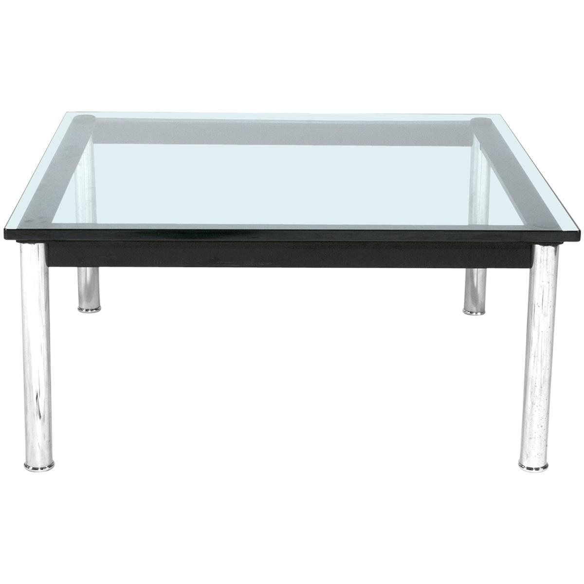 Cassina Lc10 Coffee Table By Le Corbusier Italy Modern For Sale At 1stdibs