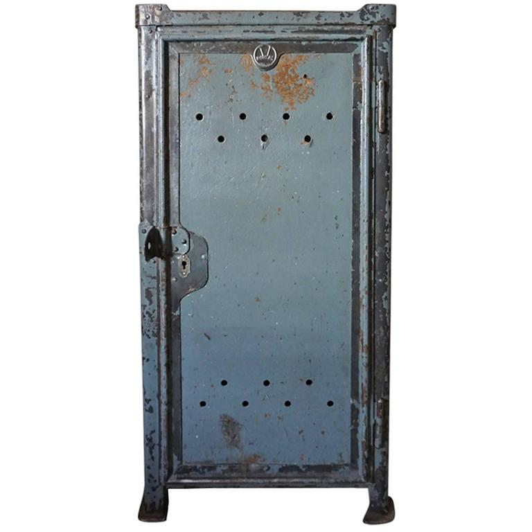 Industrial Workshop Cabinet from Rowac, 1920s