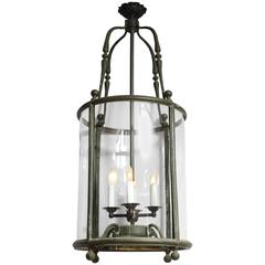 19th Century Cylindrical Lantern
