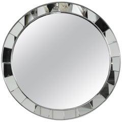Mid-20th Century Fontana Di Arte Round Mirror