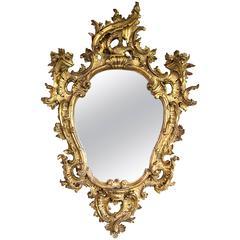 19th Century Rococo Mirror