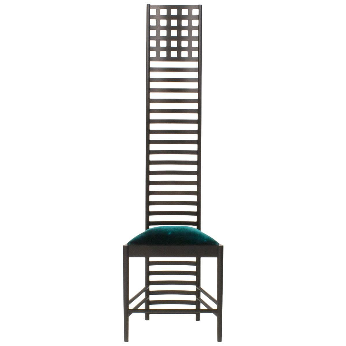 Cassina Hill House 1 High Back Dining Chair By Charles