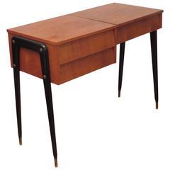 Teak Vanity Desk