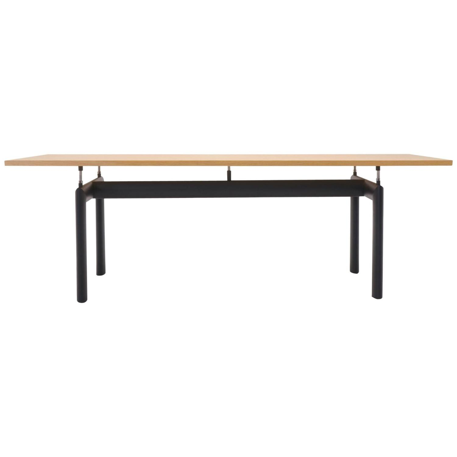 le corbusier for cassina lc6 dining or conference table at. Black Bedroom Furniture Sets. Home Design Ideas