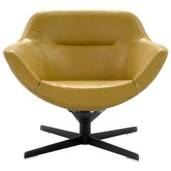 Cassina Auckland Swivel Lounge Armchair by Jean-Marie Massaud