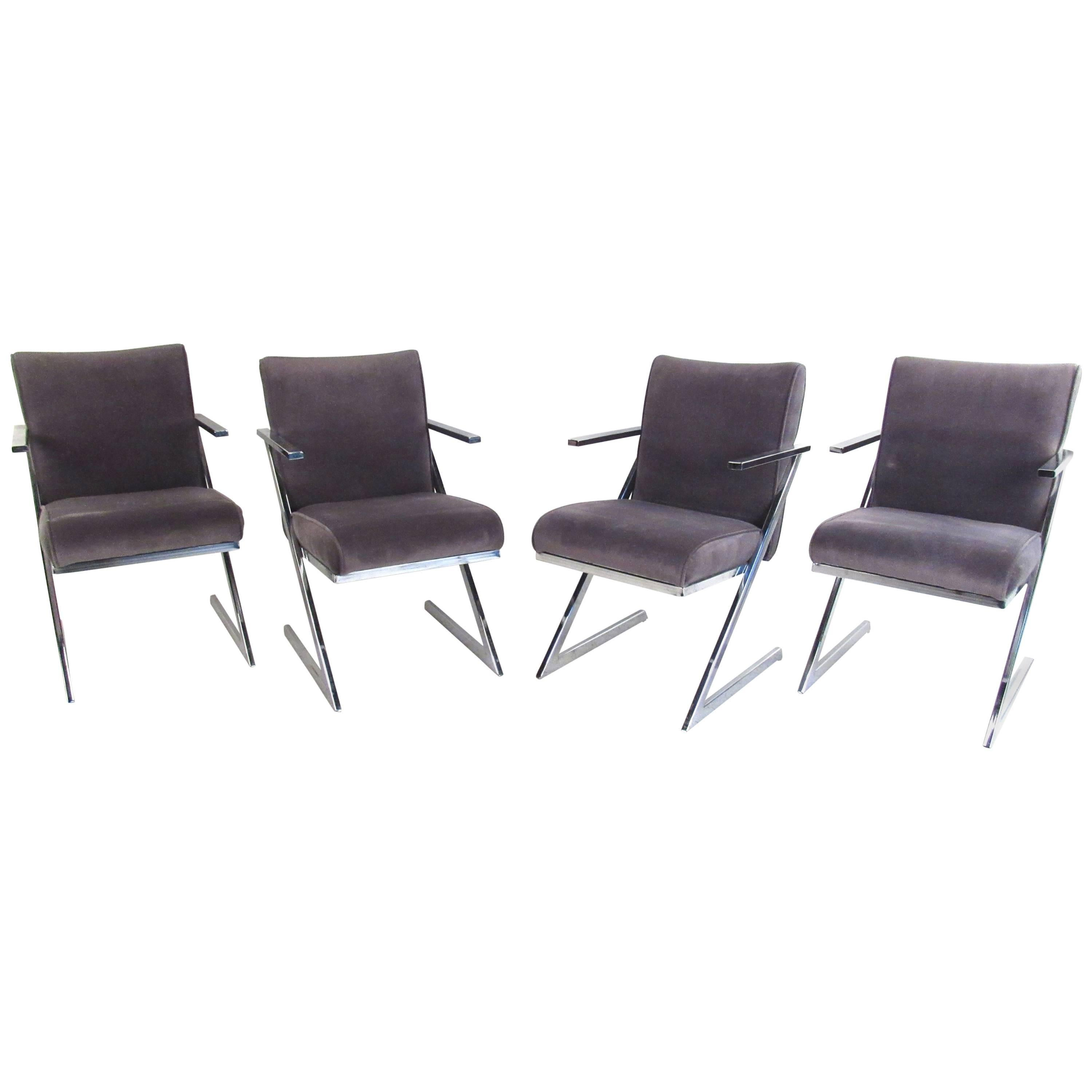 Set of Four Dining Chairs for Design Institute of America