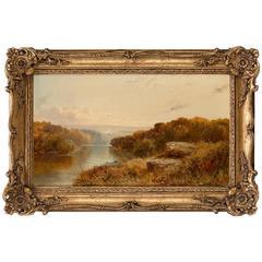 Edmund John Niemann (British, 1813-1876) Shirley Brook, Derbyshire