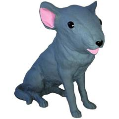 'Rat Dog' Sculpture in Fiberglass by Finn Stone