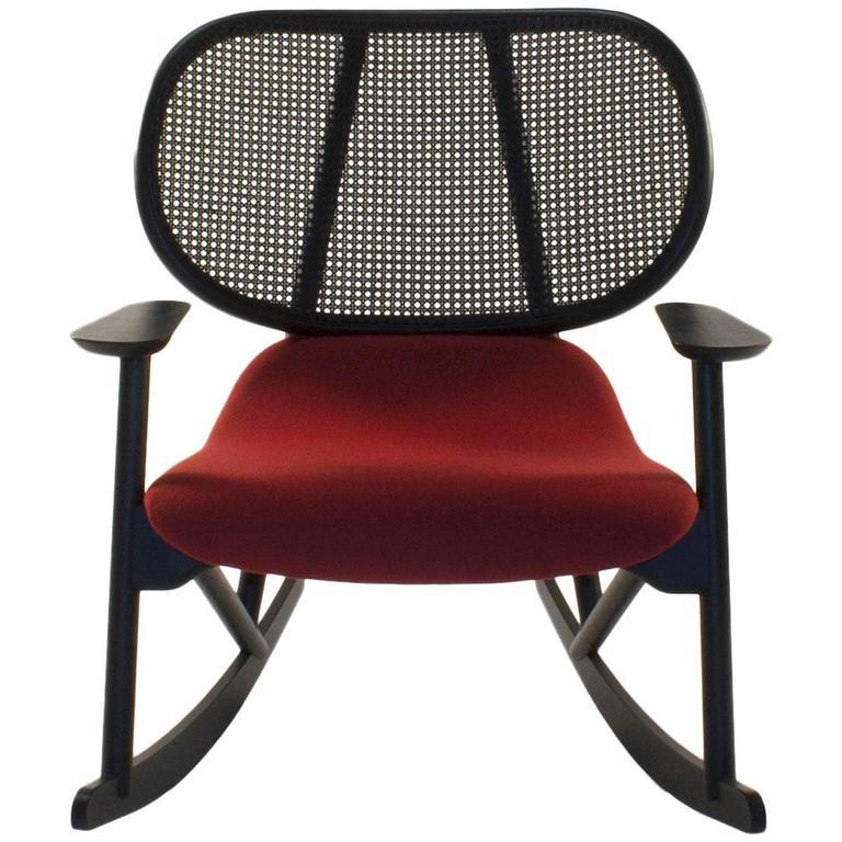 Moroso Klara Rocking Lounge Chair by Patricia Urquiola, Italy For Sale