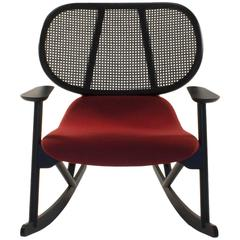 Moroso Klara Rocking Lounge Chair by Patricia Urquiola, Italy