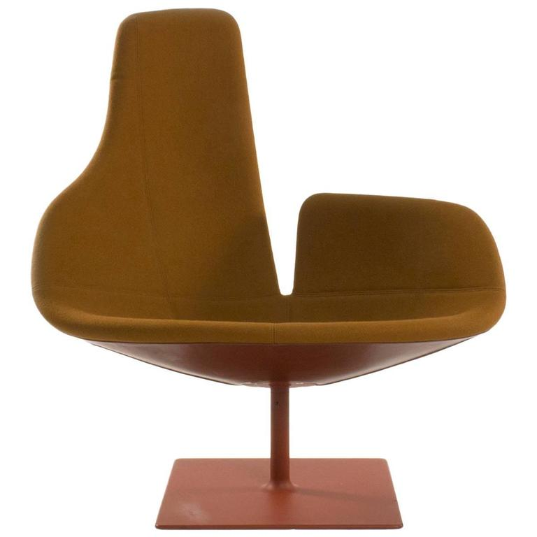 Moroso Fjord Relax Swivel Armchair By Patricia Urquiola