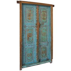 Antique Indian Gilded Doors