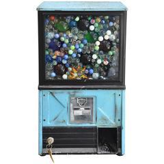 Vintage Gum Ball Machine Lamp