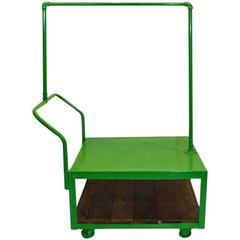 Kitson Rolling Display Cart, Lime Green