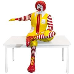 Rare Ronald McDonald Seated Statue