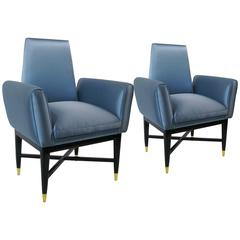 Pair of Armchairs by Arturo Pani, circa 1950