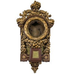Unusual Wall Hanging Clock Case