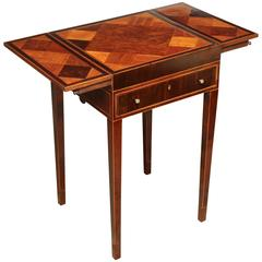 George III Inlaid Games Table