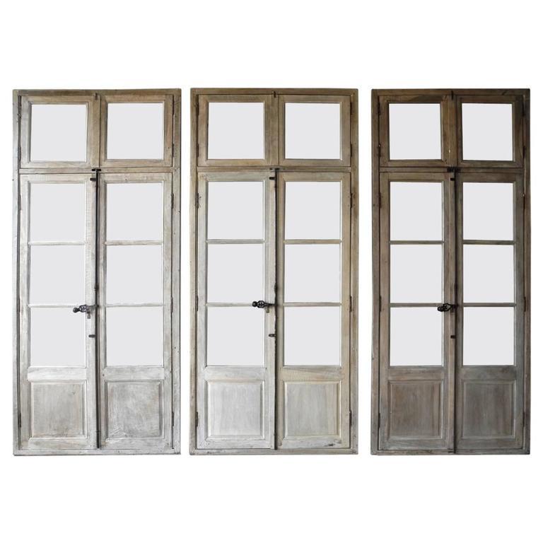 Reclaimed-wood windows, 18th century