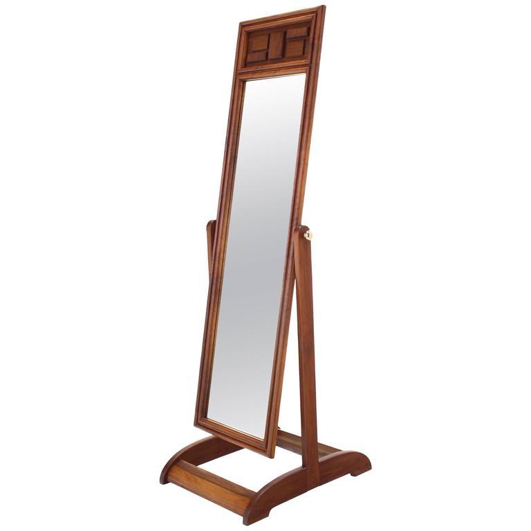 Flower Power Floor Mirror For Sale at 1stdibs