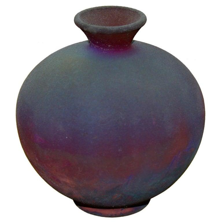 Nice small Raku Vase