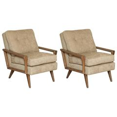 Cerused Club Chairs