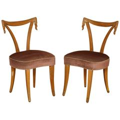 Pair of Grosfeld House Chairs