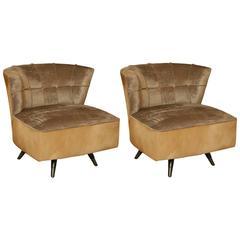 Pair of Swivel Chairs