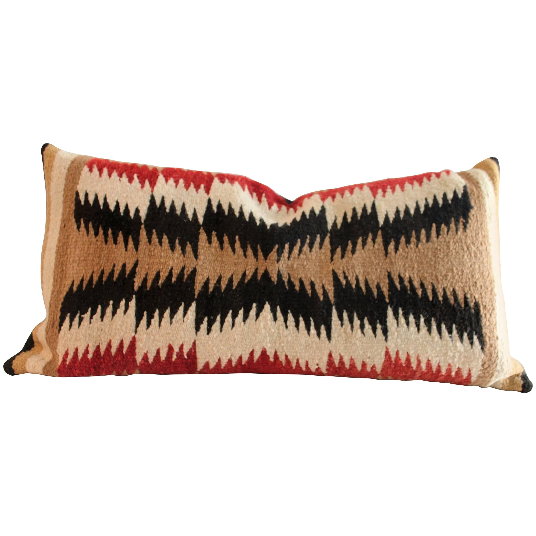 Geometric Navajo Eye Dazzler Bolster Pillow