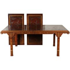 """Mid-Century Heritage """"Ming Dynasty"""" Dining Table"""