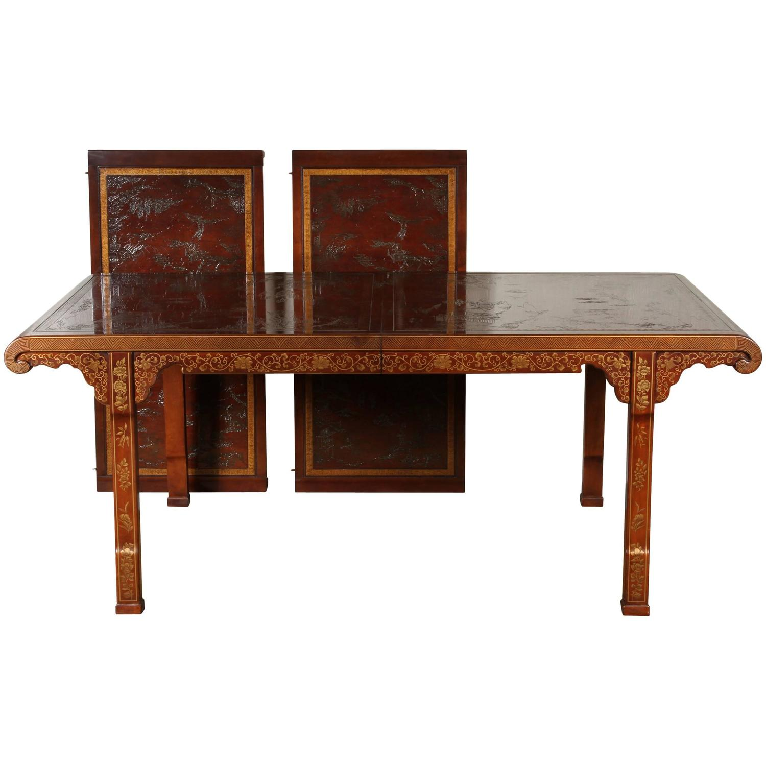 Mid Century Heritage Ming Dynasty Dining Table At 1stdibs