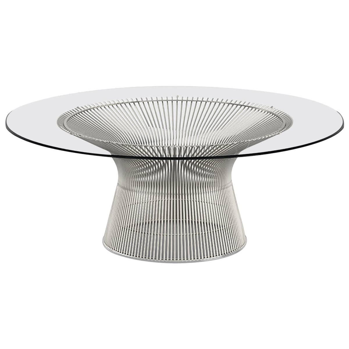 Knoll Warren Platner Coffee Table For Sale At 1stdibs