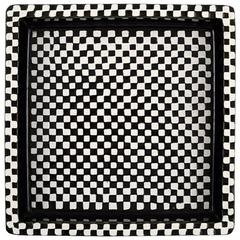 """Stig Lindberg, Gustavsberg, """"Domino"""" Dish in Ceramics, 1950s"""
