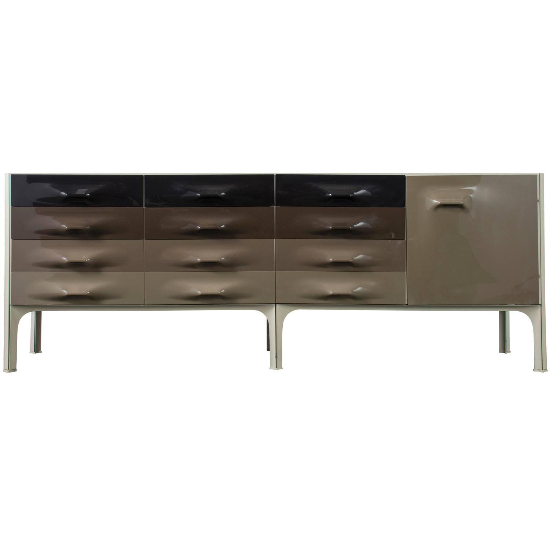 Vintage Mid Century DF2000 Dresser by Raymond Loewy at 1stdibs